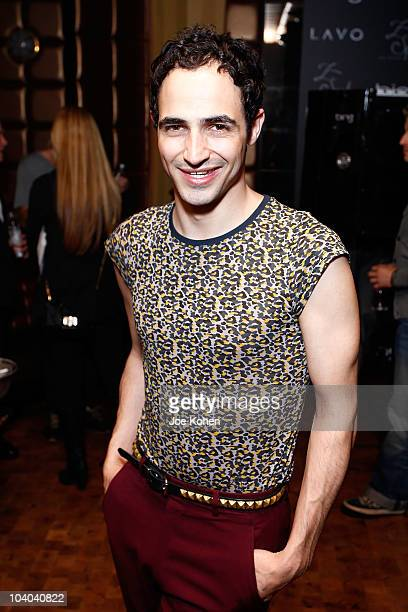 Deigner Zac Posen attends Zac Posen's Z Spoke party hosted by Bing during Mercedes-Benz Fashion Week at Lavo on September 12, 2010 in New York City.