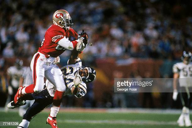hot sale online c143e 48aa0 Deion Sanders Super Bowl Event Stock Photos and Pictures