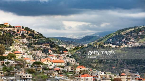 deir al-qamar - lebanon stock pictures, royalty-free photos & images
