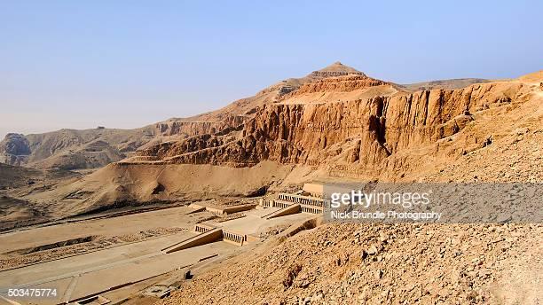 Deir el-Bahari temple, Luxor, Egypt.