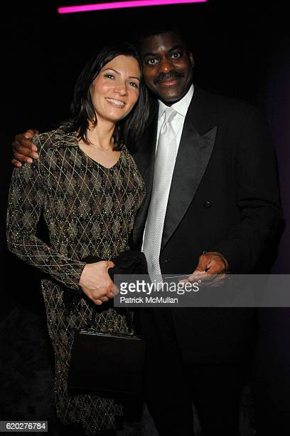 Deirdre Bolton and Mark Frompton attend BLOOMBERG 2008 WHITE HOUSE CORRESPONDENT'S DINNER AFTERPARTY at Embassy of Costa Rica on April 26, 2008 in...