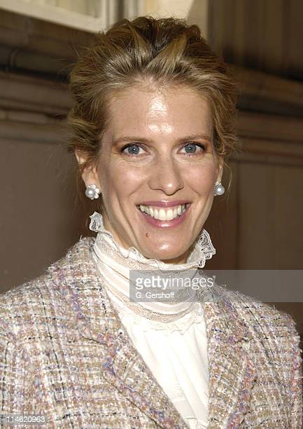 Deirdre Imus 2007 honoree during 4th Annual Women in Conservation Luncheon at The Metropolitan Club in New York City New York United States