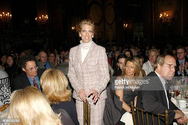 Deirdre Imus attends THE NATIONAL AUDUBON SOCIETY Presents the Rachel Carson Award at The Metropolitan Club on May 22 2007 in New York City