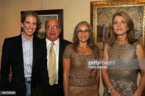 Deirdre Imus David Jurist Alice Jurist and Caroline Kennedy attend SKIP of New York 2005 Friendraiser at Christie's Auction House on September 12...