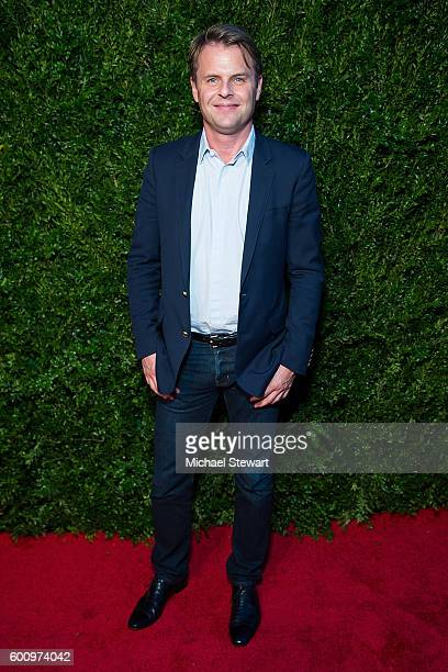 Deisgner Scott Lippes attends the Saks Downtown x Vogue event at Saks Downtown on September 8 2016 in New York City