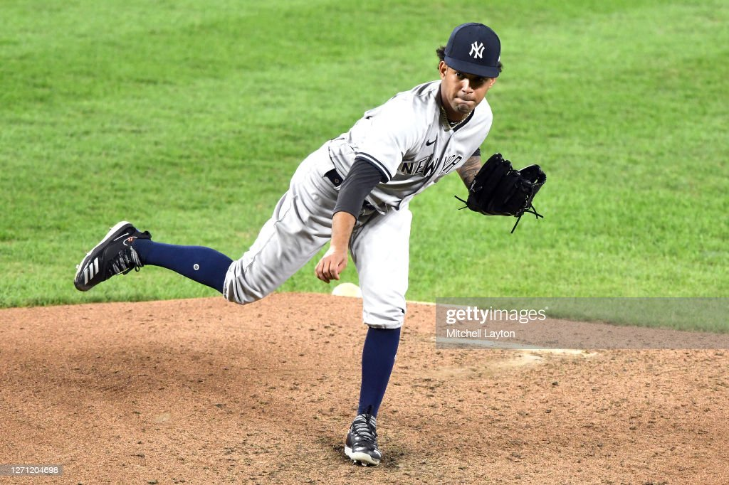 New York Yankees v Baltimore Orioles - Game Two : News Photo