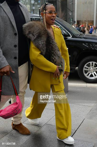Dej Loaf attends Roc Nation THE BRUNCH on January 27 2018 in New York City