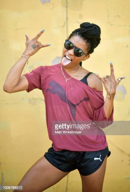 Deja Riley attends Puma's Do You Studio on July 28 2018 in Los Angeles California