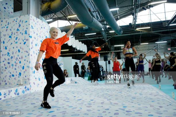 Deja Riley conducts her during POPSUGAR Play/Ground at Pier 94 on June 23 2019 in New York City