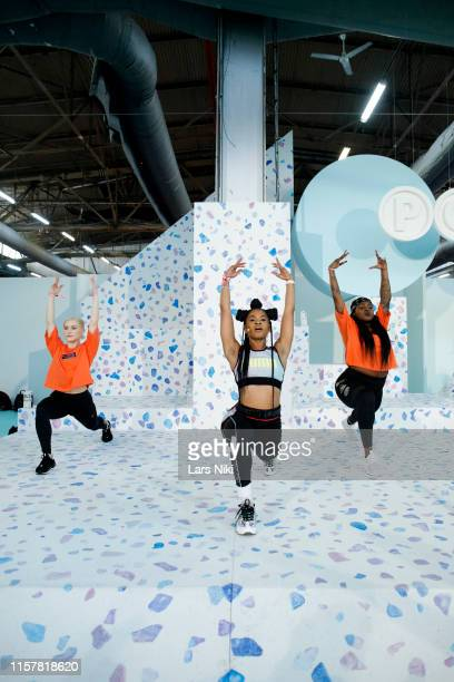 Deja Riley conducts her during POPSUGAR Play/Ground at Pier 94 on June 23, 2019 in New York City.