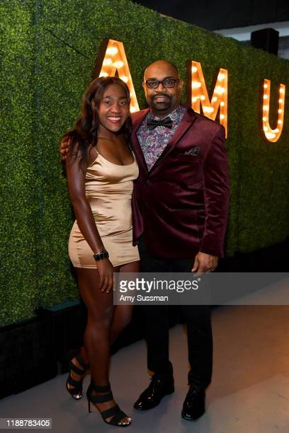 Deja Young and Don Young attend the 2019 Team USA Awards at Universal Studios Hollywood on November 19 2019 in Universal City California