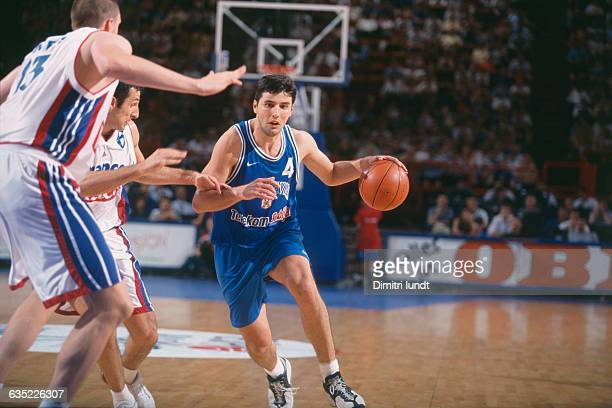 Dejan Bodiroga from Yugoslavia during the third place game of the 1999 European Championship against France