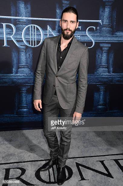 Dejan Bucin attends the premiere for the sixth season of HBO's 'Game Of Thrones' at TCL Chinese Theatre on April 10 2016 in Hollywood City