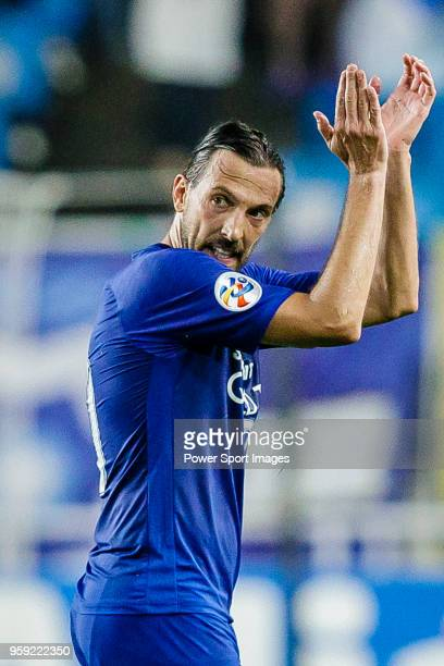 Dejan Damjanovic of Suwon Samsung Bluewings gestures during the AFC Champions League 2018 Round of 16 2nd leg match between Suwon Samsung Bluewings...