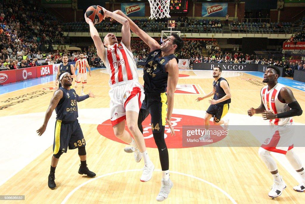 Crvena Zvezda mts Belgrade v Fenerbahce Dogus istanbul - Turkish Airlines EuroLeague