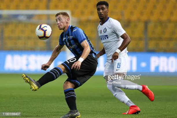 Dejan Kulusevski and Nicholas Rizzo during the Serie A Primavera TIM final match between Atalanta BC U19 and FC Internazionale U19 at Ennio Tardini...