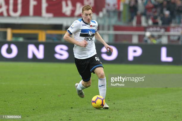 Dejan Kulusevski during the Serie A football match between Torino FC and Atalanta BC at Olympic Grande Torino Stadium on February 23 2019 in Turin...