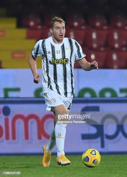 Dejan Kulusevski of Juventus during the Serie A match between Benevento Calcio and Juventus at Stadio Ciro Vigorito on November 28, 2020 in...