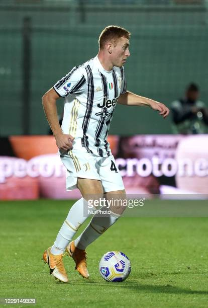 Dejan Kulusevski of Juventus Fc during the Serie A match between Fc Crotone and Juventus Fc on October 17 2020 stadium quotEzio Scidaquot in Crotone...