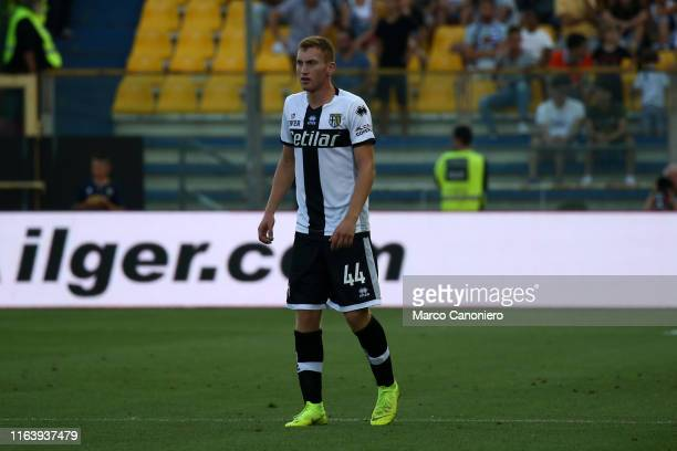 Dejan Kulusevski of Parma Calcio in action during the Serie A match between Parma Calcio and Juventus FcJuventus Fc wins 10 over Parma Calcio