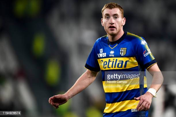 Dejan Kulusevski of Parma Calcio looks on during the Serie A football match between Juventus FC and Parma Calcio Juventus FC won 21 over Parma Calcio