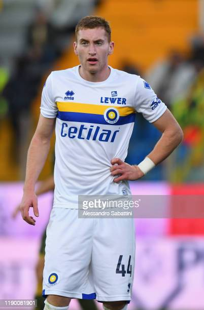 Dejan Kulusevski of Parma Calcio looks on during the Serie A match between Parma Calcio and Brescia Calcio at Stadio Ennio Tardini on December 22...