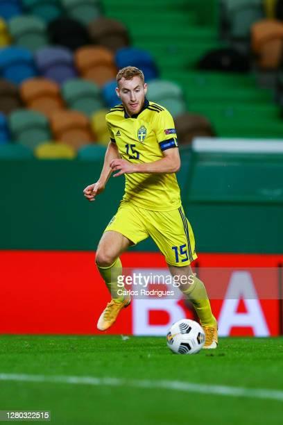 Dejan Kulusevski of Sweden and Juventus FC during the UEFA Nations League group stage match between Portugal and Sweden at Estadio Jose Alvalade on...