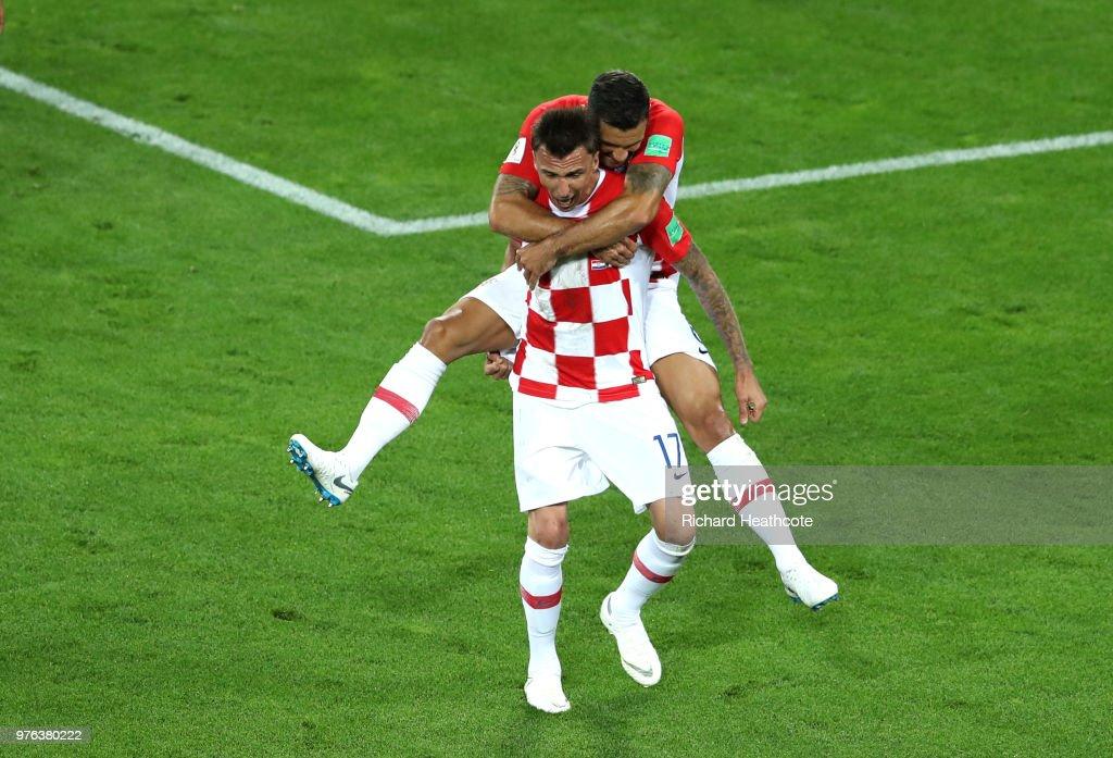 Croatia 2 - 0 Nigeria - 2018 FIFA World Cup