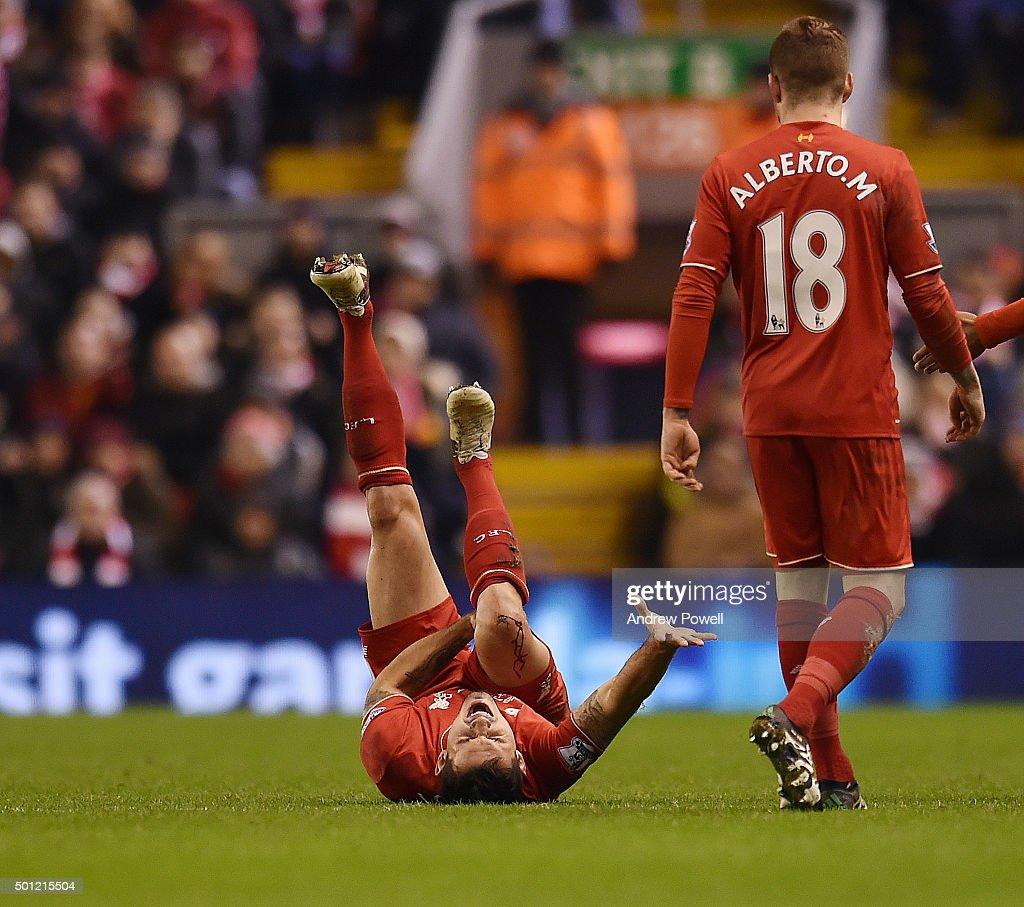 Liverpool v West Bromwich Albion - Premier League : Nieuwsfoto's