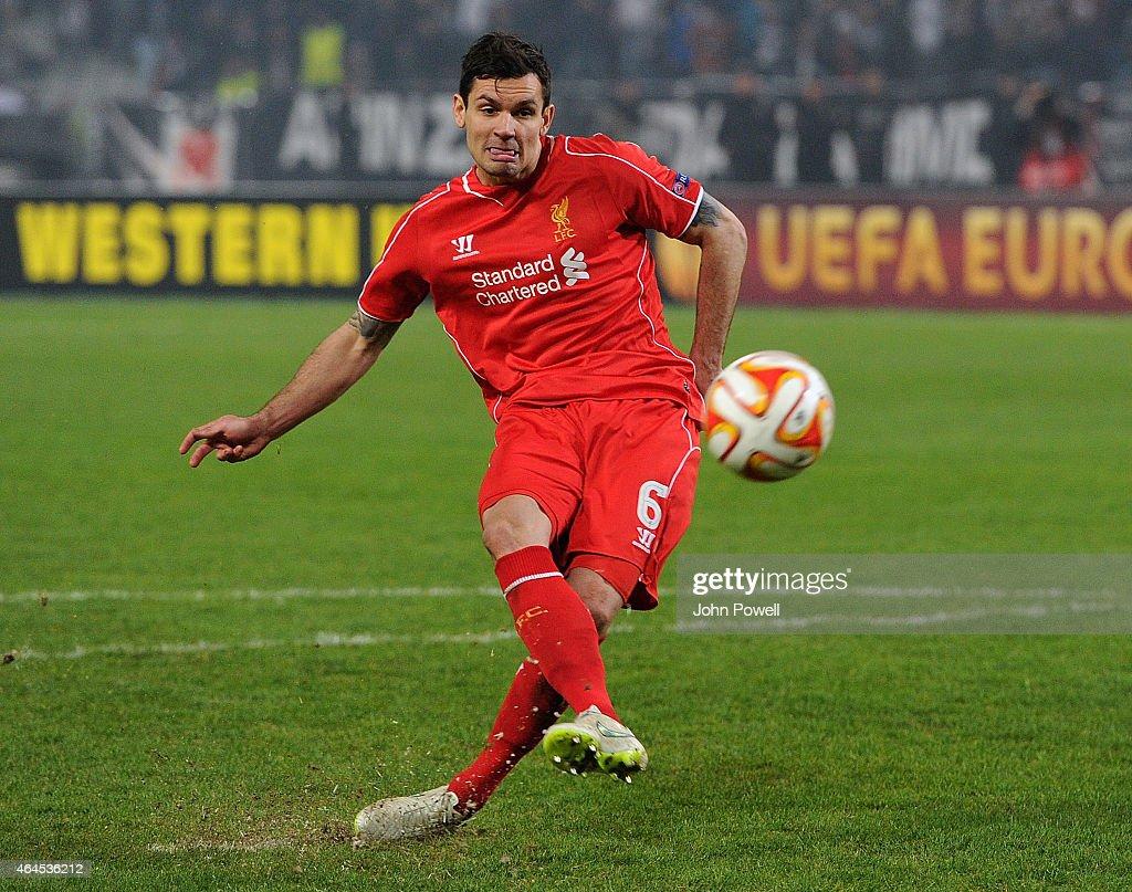 Besiktas JK v Liverpool FC - UEFA Europa League Round of 32 : News Photo