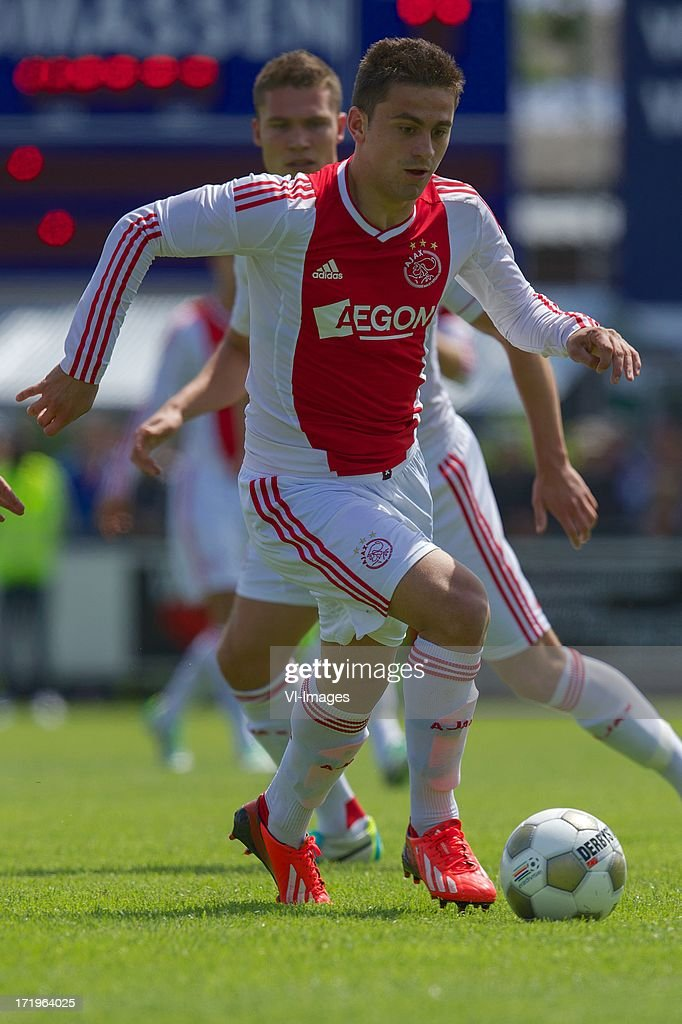 Dejan Meleg of Ajax during the pre season friendly match between SDC Putten and Ajax on June 29, 2013 in Putten, The Netherlands.