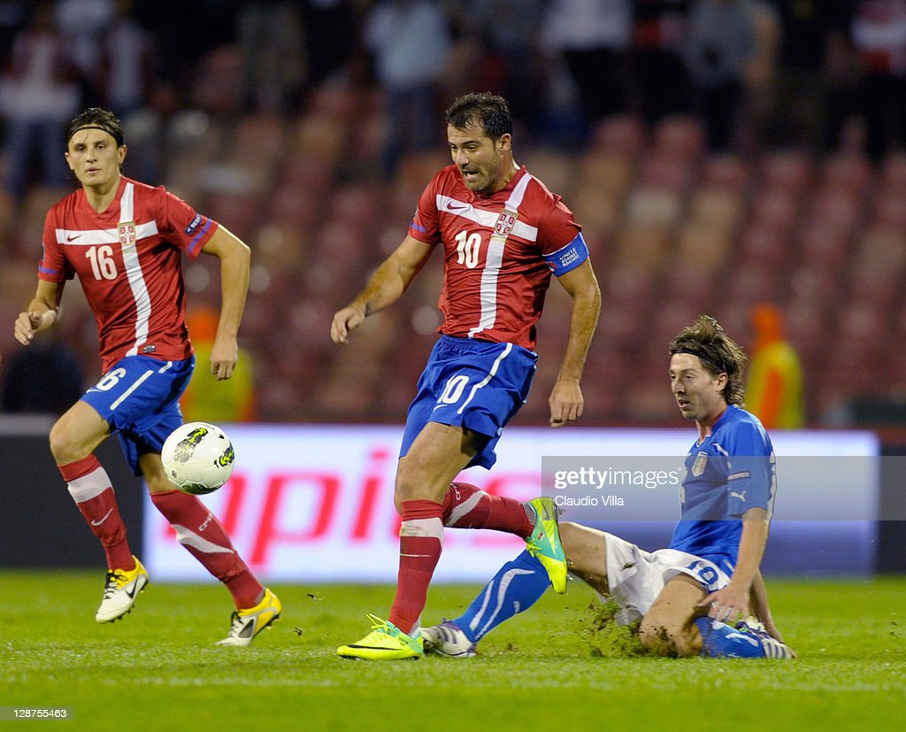 Serbia v Italy - EURO 2012 Qualifier : News Photo