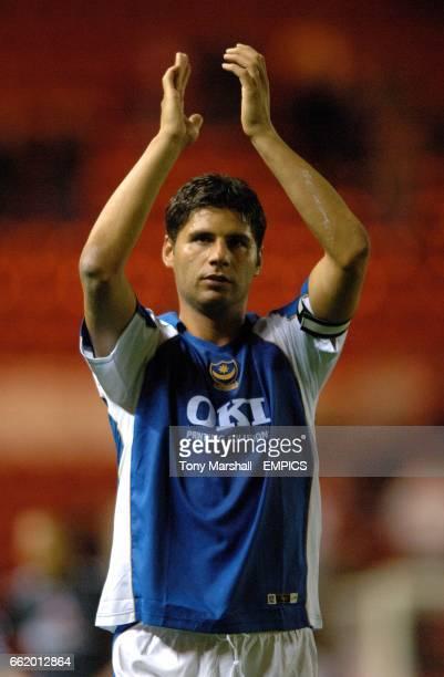 Dejan Stefanovic, Portsmouth Pictures taken after the final whistle