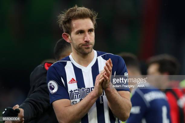 A dejected Craig Dawson of West Bromwich Albion during the Premier League match between AFC Bournemouth and West Bromwich Albion at Vitality Stadium...