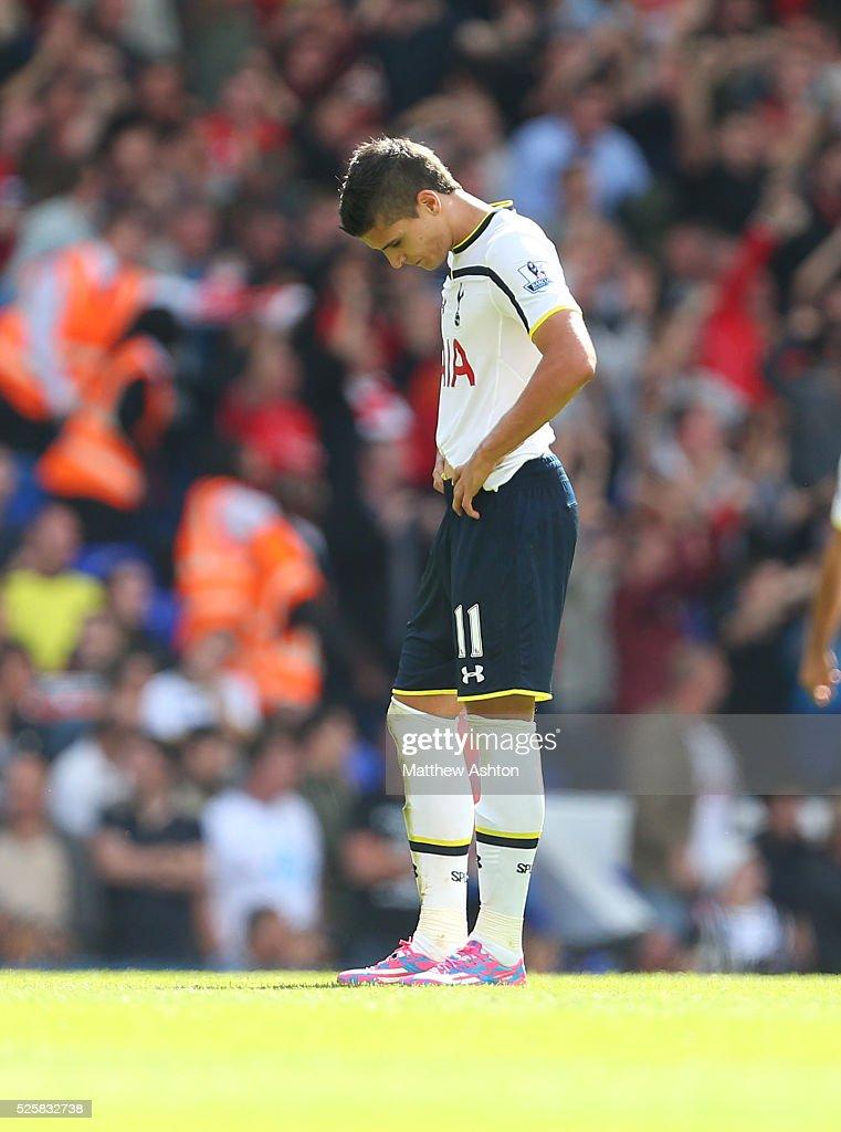 Soccer : Barclays Premier League - Tottenham Hotspur v Liverpool : News Photo