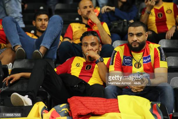 Dejected Esperance Sportive de Tunis at full time of the FIFA Club World Cup 2nd round match between Al Hilal and Esperance Sportive de Tunis at...