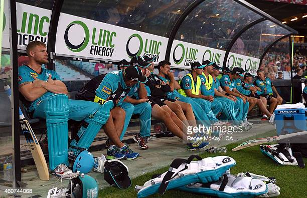 2 396 Big Bash League Thunder V Heat Photos And Premium High Res Pictures Getty Images