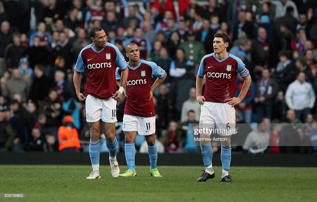 Soccer - Premier League - Aston Villa vs. Stoke City : ニュース写真
