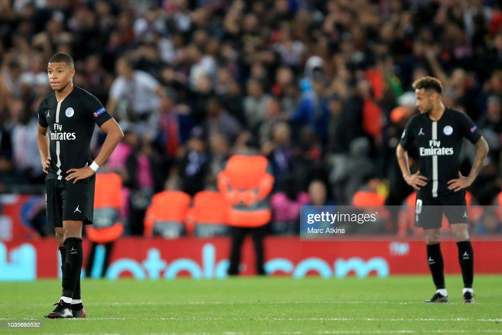 Liverpool v Paris Saint-Germain - UEFA Champions League Group C : News Photo