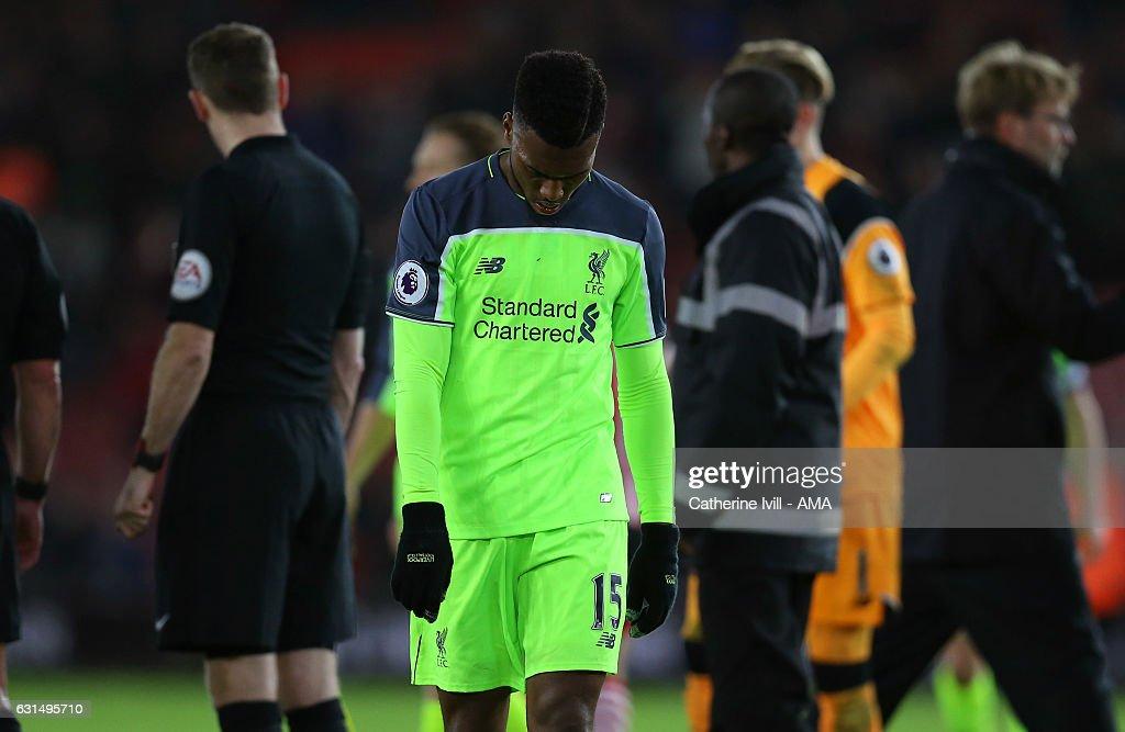 Southampton v Liverpool - EFL Cup Semi-Final: First Leg : News Photo