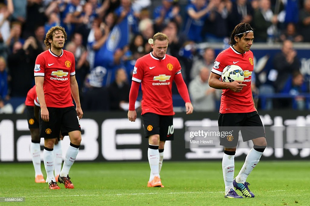 Leicester City v Manchester United - Premier League : News Photo