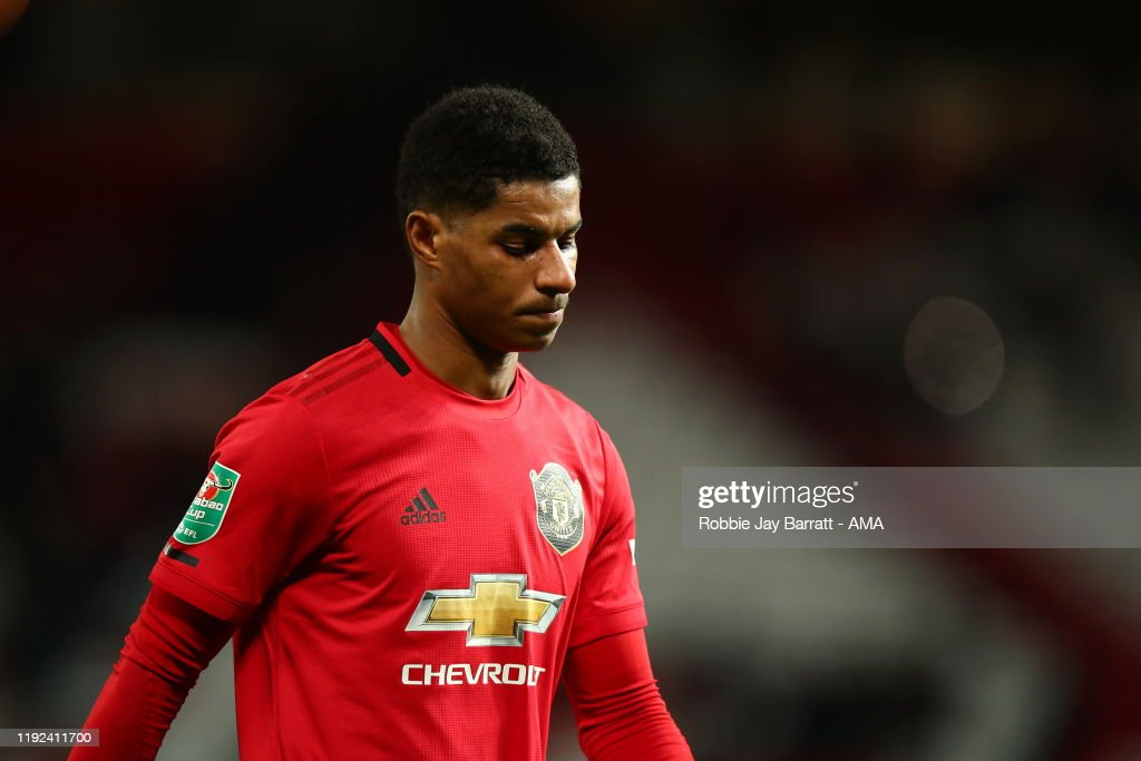 Manchester United v Manchester City - Carabao Cup: Semi Final : News Photo