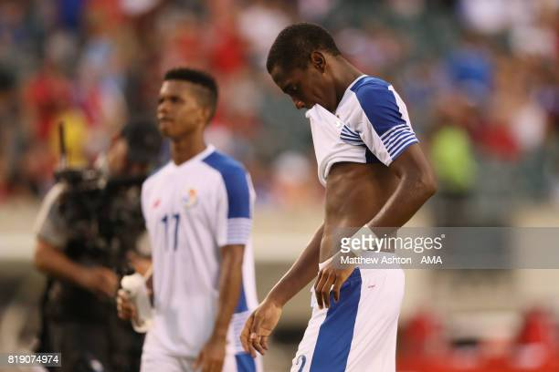 A dejected Michael Murillo of Panama after losing 10 and being knocked out of the tournament during the 2017 CONCACAF Gold Cup Quarter Final match...