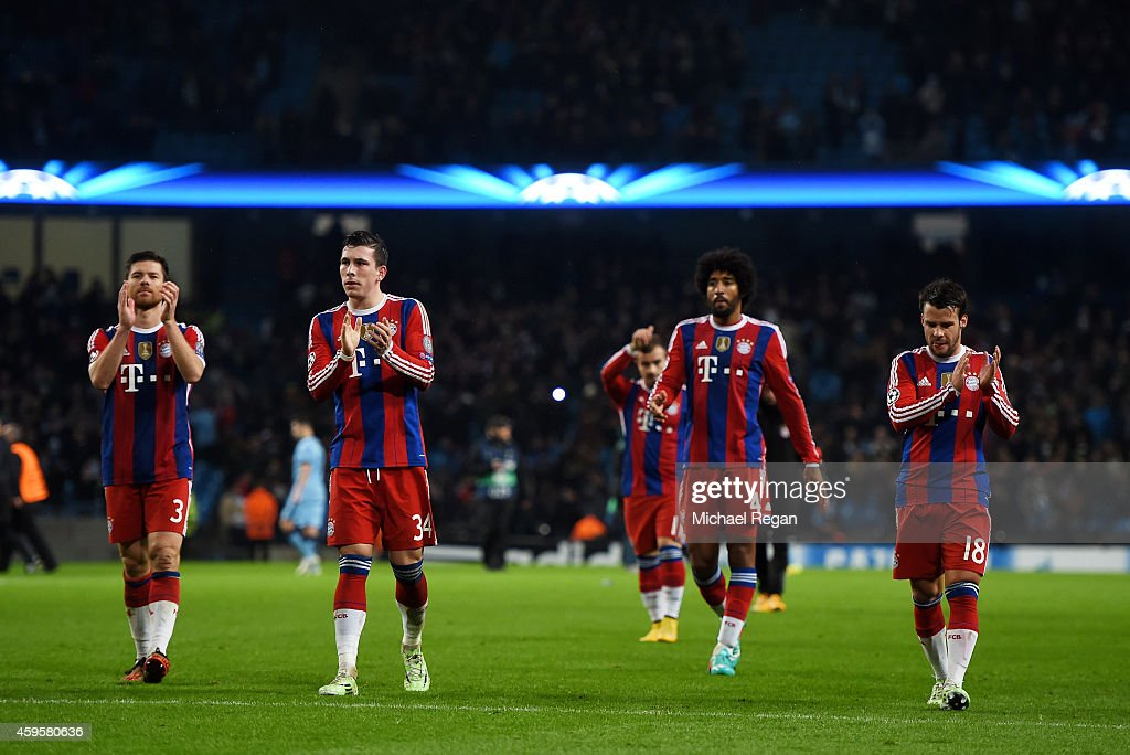 Manchester City FC v FC Bayern Muenchen - UEFA Champions League : News Photo