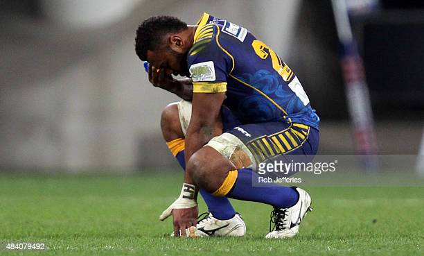 A dejected Naulia Dawai of Otago after their loss to Canterbury after the round one ITM Cup match between Otago and Canterbury at Forsyth Barr...