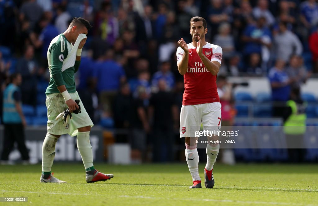 Cardiff City v Arsenal FC - Premier League : News Photo