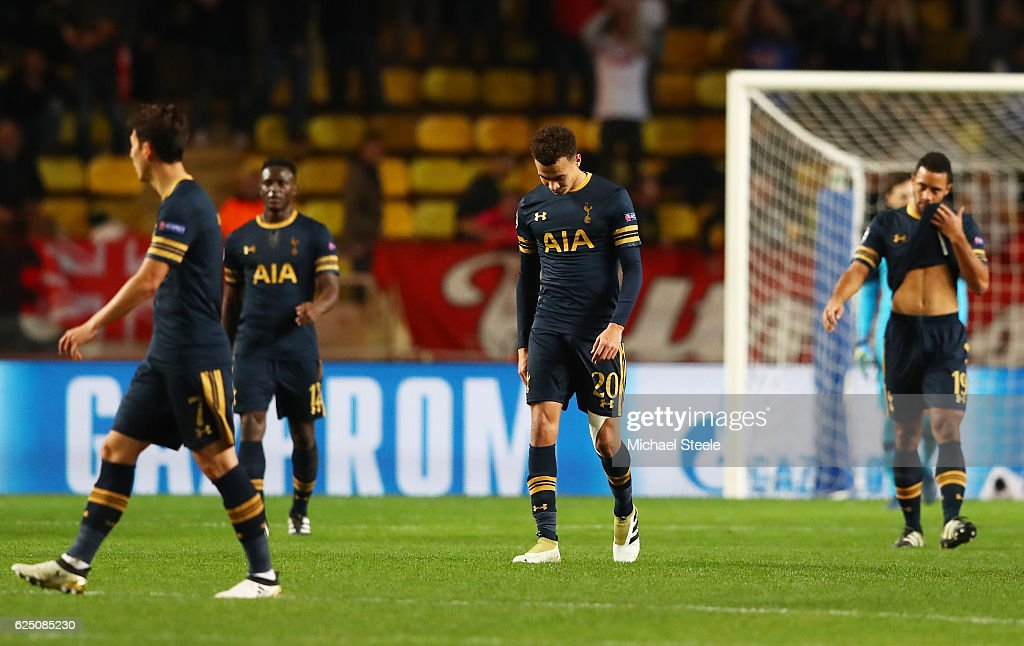 AS Monaco FC v Tottenham Hotspur FC - UEFA Champions League : News Photo