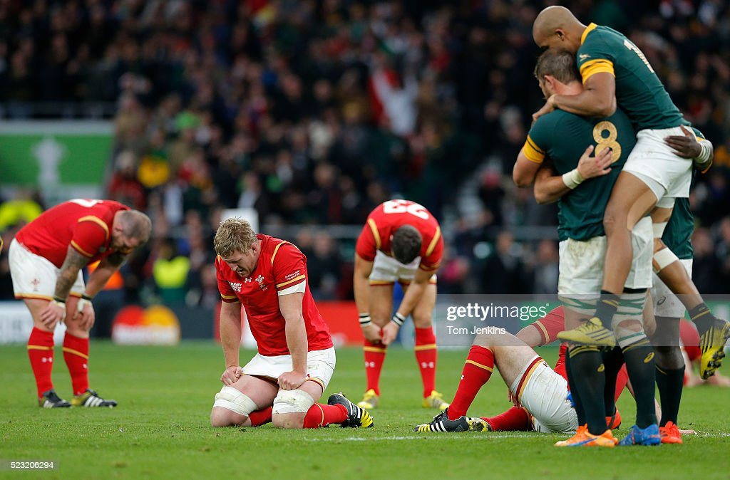 South Africa v Wales : News Photo