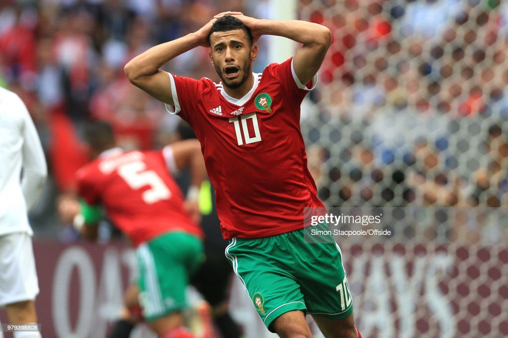 Portugal v Morocco: Group B - 2018 FIFA World Cup Russia : ニュース写真