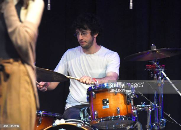 Dekel Dvir of Lola Marsh performs onstage at International Day Stage during SXSW on March 17 2018 in Austin Texas